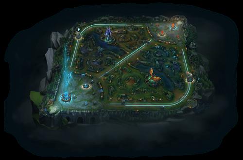 League of Legend map